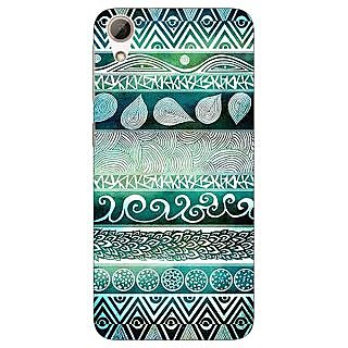 Jugaaduu Aztec Girly Tribal Back Cover Case For HTC Desire 626 - J920076