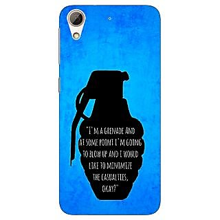 Jugaaduu TFIOS Grenade  Back Cover Case For HTC Desire 626 - J920106