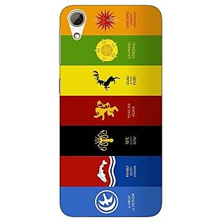 Jugaaduu Game Of Thrones GOT  Back Cover Case For HTC Desire 626G+ - J940115