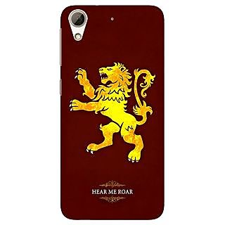 Jugaaduu Game Of Thrones GOT House Lannister  Back Cover Case For HTC Desire 626G+ - J940162