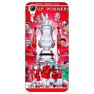 Jugaaduu Arsenal Back Cover Case For HTC Desire 626G+ - J940516