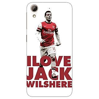 Jugaaduu Arsenal Jack Wilshere Back Cover Case For HTC Desire 626G+ - J940520