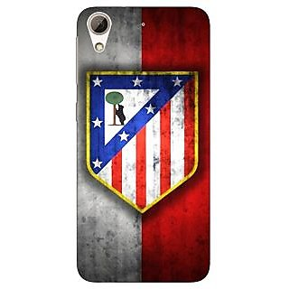 Jugaaduu Athletico Madrid Back Cover Case For HTC Desire 626G+ - J940521