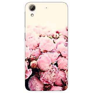 Jugaaduu Floral Pattern  Back Cover Case For HTC Desire 626G - J930657