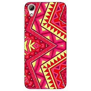 Jugaaduu Floral Pattern  Back Cover Case For HTC Desire 626G - J930667