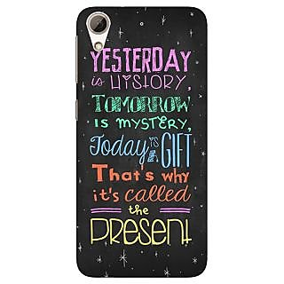 Jugaaduu Happiness Quote Back Cover Case For HTC Desire 626 - J920814