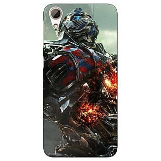 Jugaaduu Transformers Optimus Prime Back Cover Case For HTC Desire 626G+ - J940887