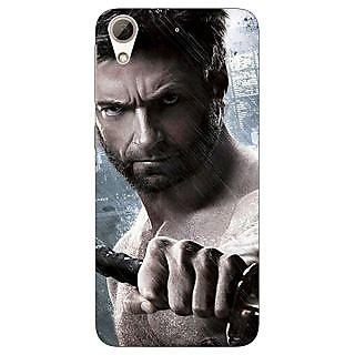 Jugaaduu Wolverine Hugh Jackman Back Cover Case For HTC Desire 626G+ - J940893