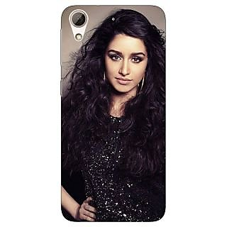 Jugaaduu Bollywood Superstar Shraddha Kapoor Back Cover Case For HTC Desire 626G - J931008