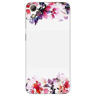 Jugaaduu Flowers Back Cover Case For HTC Desire 626 - J921150