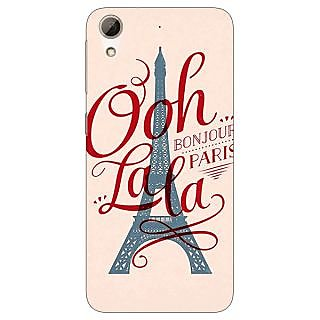 Jugaaduu Quotes Paris Back Cover Case For HTC Desire 626 - J921166