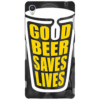 Jugaaduu Beer Quote Back Cover Case For Sony Xperia Z4 - J581250