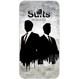 Jugaaduu SUITS Harvey Spector Back Cover Case For Samsung Galaxy A3 - J570478