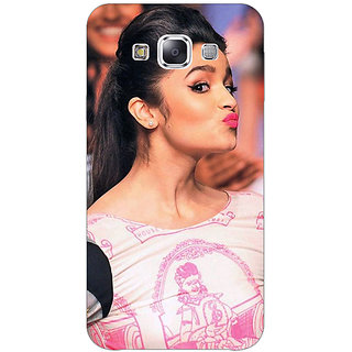 Jugaaduu Bollywood Superstar Alia Bhatt Back Cover Case For Samsung Galaxy A3 - J570966