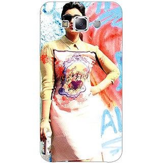 Jugaaduu Bollywood Superstar Parineeti Chopra Back Cover Case For Samsung Galaxy A3 - J570978