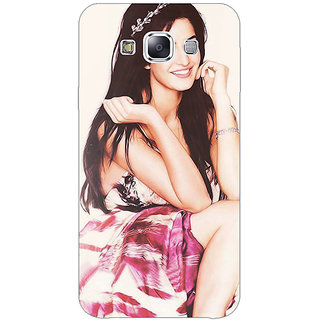 Jugaaduu Bollywood Superstar Katrina Kaif Back Cover Case For Samsung Galaxy A3 - J570979