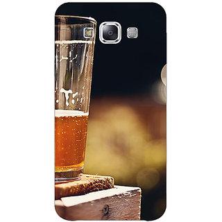 Jugaaduu Beer Candid Back Cover Case For Samsung Galaxy A3 - J571207