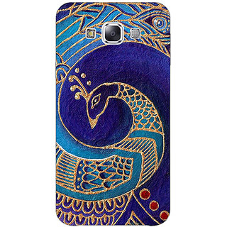 Jugaaduu Paisley Beautiful Peacock Back Cover Case For Samsung Galaxy A3 - J571589