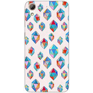 Jugaaduu Diamonds of Dreams Pattern Back Cover Case For HTC Desire 626G+ - J940251