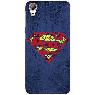 Jugaaduu Superheroes Superman Back Cover Case For HTC Desire 626G - J930381