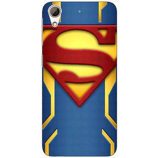 Jugaaduu Superheroes Superman Back Cover Case For HTC Desire 626G - J930390