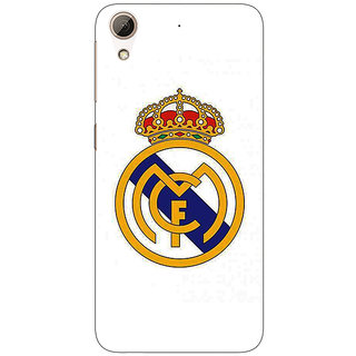 Jugaaduu Real Madrid Back Cover Case For HTC Desire 626G+ - J940584