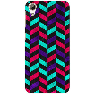 Jugaaduu Tribal Back Cover Case For HTC Desire 626G - J930783