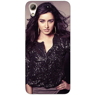 Jugaaduu Bollywood Superstar Shruti Hassan Back Cover Case For HTC Desire 626G - J931065