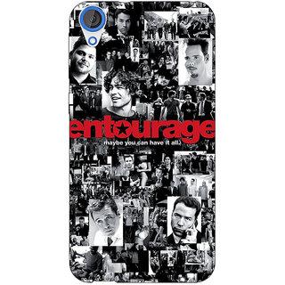 Jugaaduu Entourage Back Cover Case For HTC Desire 826 - J590438