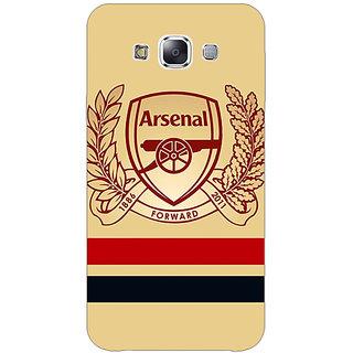Jugaaduu Arsenal Back Cover Case For Samsung Galaxy A3 - J570519