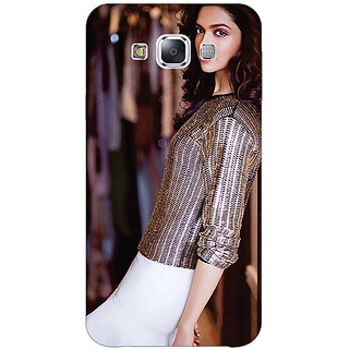 Jugaaduu Bollywood Superstar Deepika Padukone Back Cover Case For Samsung Galaxy A3 - J571053