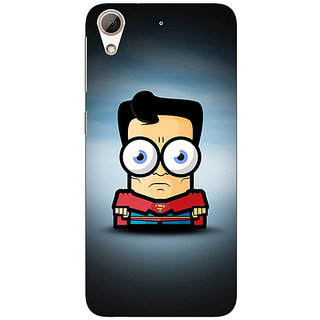 Jugaaduu Big Eyed Superheroes Superman Back Cover Case For HTC Desire 626G - J930397