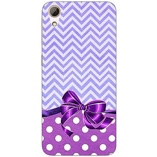 Jugaaduu Cute Bow Back Cover Case For HTC Desire 626G - J930785