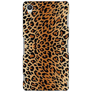 Jugaaduu Cheetah Leopard Print Back Cover Case For Sony Xperia Z4 - J580078