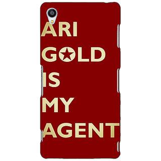 Jugaaduu Entourage Ari Gold Back Cover Case For Sony Xperia Z4 - J580436