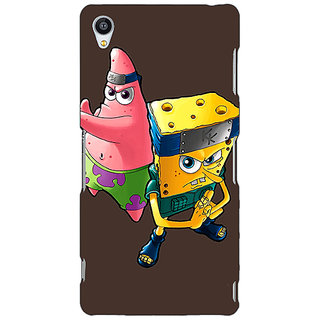 Jugaaduu Spongebob Patrick Back Cover Case For Sony Xperia Z4 - J580471
