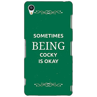 Jugaaduu SUITS Quotes Back Cover Case For Sony Xperia Z4 - J580479