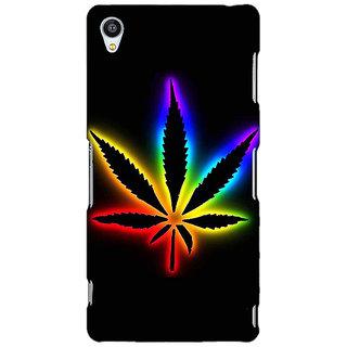 Jugaaduu Weed Marijuana Back Cover Case For Sony Xperia Z4 - J580492