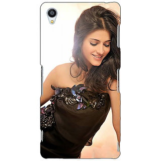 Jugaaduu Bollywood Superstar Shruti Hassan Back Cover Case For Sony Xperia Z4 - J581011