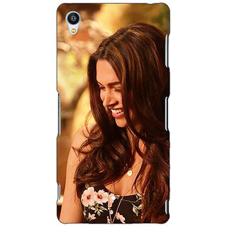 Jugaaduu Bollywood Superstar Deepika Padukone Back Cover Case For Sony Xperia Z4 - J581032