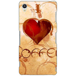 Jugaaduu Coffee Quote Back Cover Case For Sony Xperia Z4 - J581362