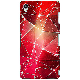 Jugaaduu Crystal Prism Back Cover Case For Sony Xperia Z4 - J581413