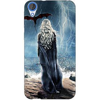 Jugaaduu Game Of Thrones GOT House Targaryen  Back Cover Case For HTC Desire 826 - J590147