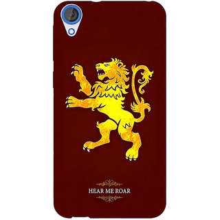 Jugaaduu Game Of Thrones GOT House Lannister  Back Cover Case For HTC Desire 826 - J590162