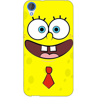 Jugaaduu Spongebob Back Cover Case For HTC Desire 826 - J590461