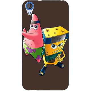 Jugaaduu Spongebob Patrick Back Cover Case For HTC Desire 826 - J590471