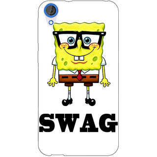 Jugaaduu Spongebob Back Cover Case For HTC Desire 826 - J590473