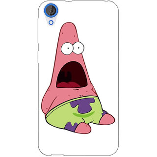 Jugaaduu Spongebob Patrick Back Cover Case For HTC Desire 826 - J590475