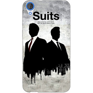 Jugaaduu SUITS Harvey Spector Back Cover Case For HTC Desire 826 - J590478