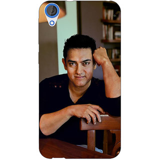 Jugaaduu Bollywood Superstar Aamir Khan Back Cover Case For HTC Desire 826 - J590915